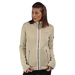 Regatta - Cream Ranita fleece jacket