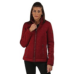 Regatta - Red Ranita fleece jacket
