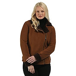 Regatta - Brown Bernetta fleece jacket