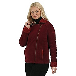 Regatta - Red Bernetta fleece jacket