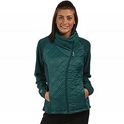 Regatta - Teal Chilton hybrid fleece jacket