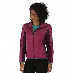 Regatta - Purple laney fleece jacket