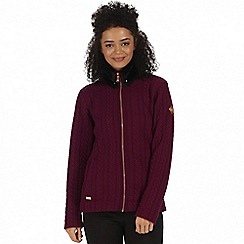 Regatta - Purple 'Tryna' fleece