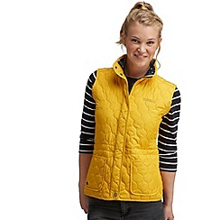 Regatta - Yellow mollie bodywarmer