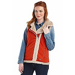 Regatta - Orange bessel fleece bodywarmer