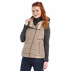 Regatta - Sand evermore quilted bodywarmer
