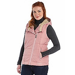 Regatta - Dusky rose evermore quilted bodywarmer
