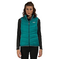 Regatta - Teal Icebound showerproof body warmer
