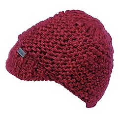 Regatta - Red womens knitted espen hat