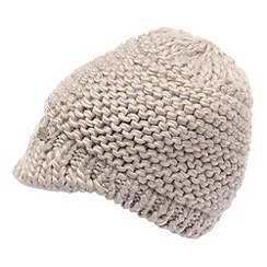 Regatta - Pearl grey womens knitted espen hat