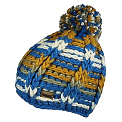 Regatta - Petrol blue viktoria knitted hat