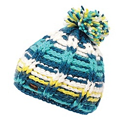 Regatta - Moroccan blue womens knitted viktoria hat