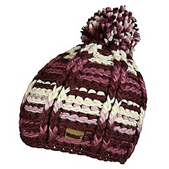 Regatta - Fig viktoria knitted hat
