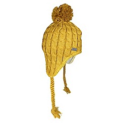 Regatta - Yellow lofthead knitted beanie