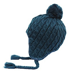Regatta - Moroccan blue womens knitted lofthead beanie