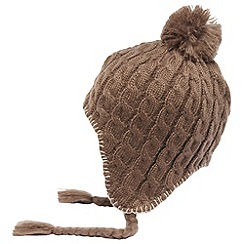 Regatta - Coconut womens knitted lofthead beanie