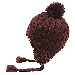 Regatta - Purple potion womens knitted lofthead beanie