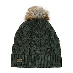 Regatta - Khaki Cuddle bobble hat