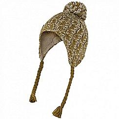 Regatta - Yellow 'Whirlwind' fleece hat