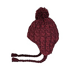 Regatta - Red Whirlwind knitted hat