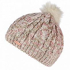 Regatta - Cream 'Frosty' pom pom hat