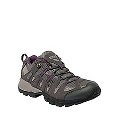 Regatta - Shark/blackberry lady garsdale low casual walking shoe