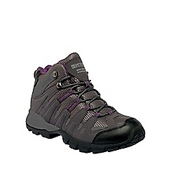 Regatta - Shark/blackberry6 lady garsdale mid casual walking boot