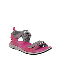 Regatta - Pink/grey lady terrarock casual walking sandal
