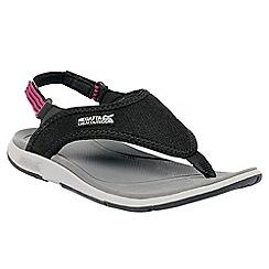 Regatta - Black/pink lady trailrider sport sandal