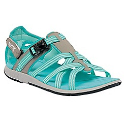 Regatta - Aqua/grey lady supa-swift casual sandal