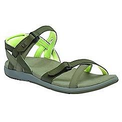Regatta - Green lady Santa Cruz sandals