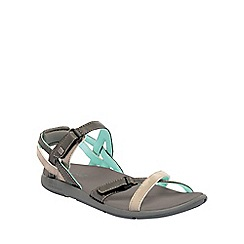 Regatta - Charcoal/mint lady santa cruz everyday sandals