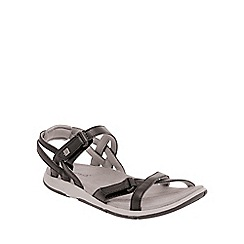 Regatta - Black/ash lady santa cruz everyday sandals