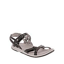 Regatta - Black/ash lady santa cruz everyday sandals