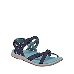 Regatta - Navy/blue lady santa cruz everyday sandals