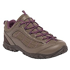 Regatta - Mink/blackcurrant lady peakland casual walking shoe