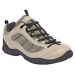 Regatta - Beige/iron lady peakland casual walking shoe