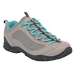 Regatta - Ash/blue lady peakland casual walking shoe