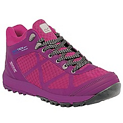 Regatta - Pink/magenta lady hyper-trek mid trail boot