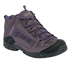 Regatta - Grey/blackberry lady edgepoint mid casual walking boot