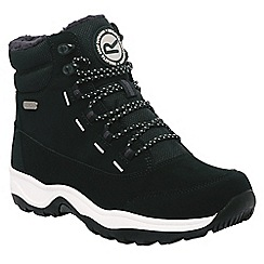 Regatta - Black mountpeak ladies walking boot