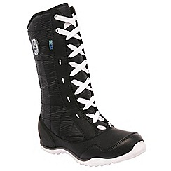 Regatta - Black northstar ladies winter boot