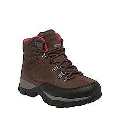 Regatta - Brown lady borderline weatherproof hiking boot