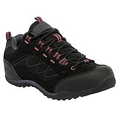 Regatta - Black eastmoor ladies walking shoe