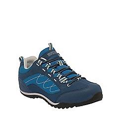Regatta - Blue eastmoor ladies walking shoe