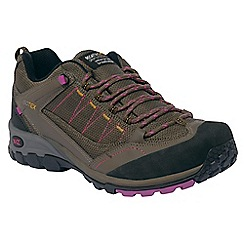 Regatta - Brown/viola lady ultra-max ii casual walking shoe