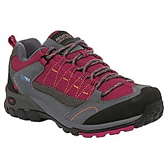 Regatta - Grey/ pink ultra-max walking shoe