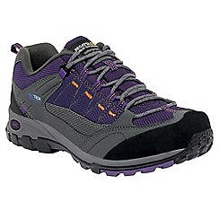 Regatta - Grey/purple lady ultra-max ii casual walking shoe