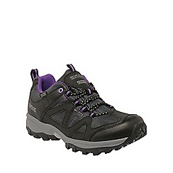 Regatta - Purple Gatlin low walking shoe