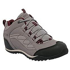 Regatta - Grey eastmoor ladies mid walking boot
